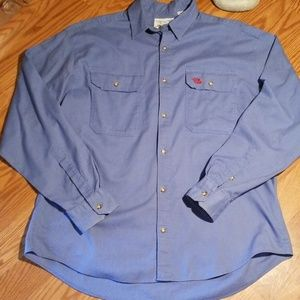 The north face button down dress shirt med